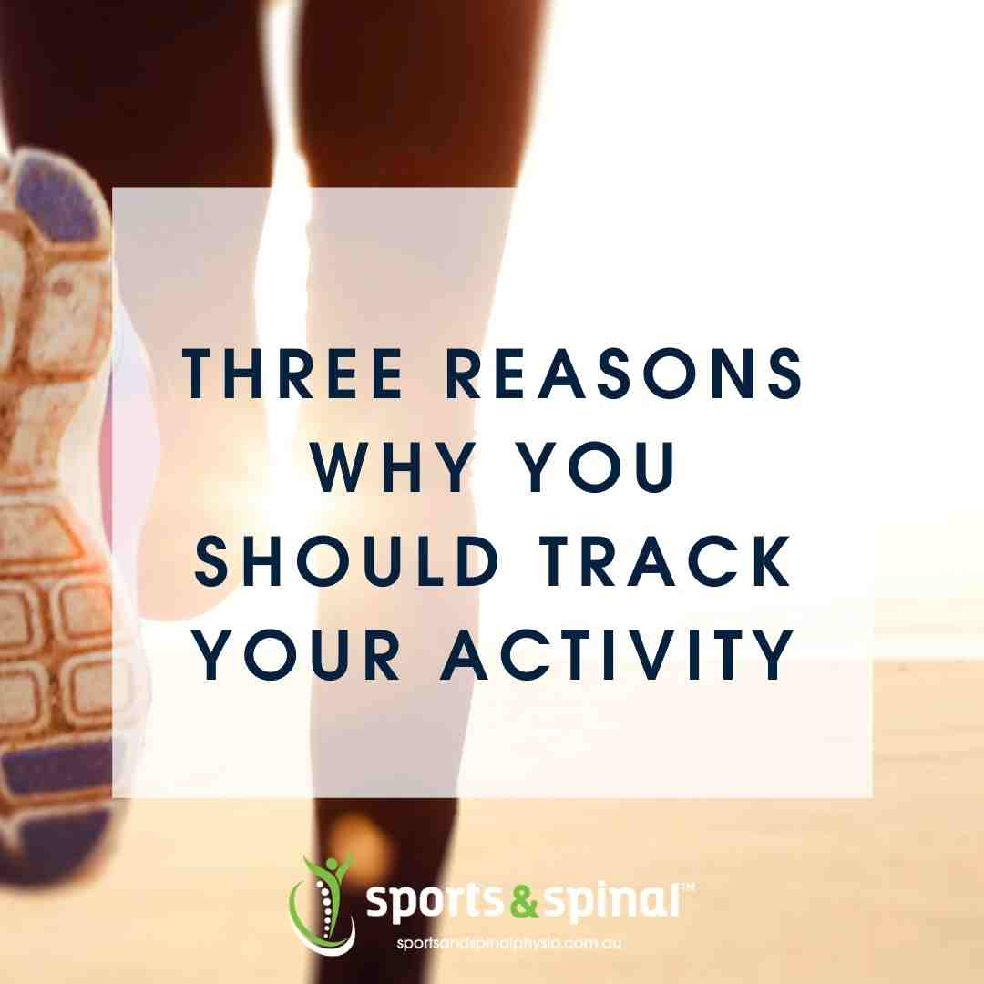 Three Reasons Why You Should Track Your Activity Graphic Header